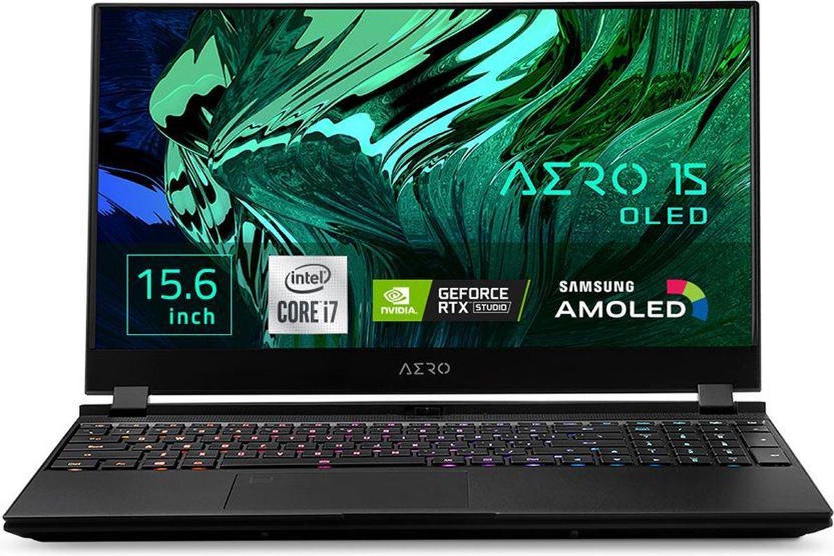 "Gigabyte AERO 15 OLED KC - Gaming Laptop - NVIDIA GeForce RTX 3060 6 GB - 15.6"" UHD OLED - Intel Core i7-10870H - 16 GB RAM - 512 GB SSD PCIe NVMe - Windows 10 Pro"