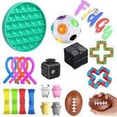Fidget Toys Pakket - 20 Toys Set - Fidget Cube - Fidget Pop It