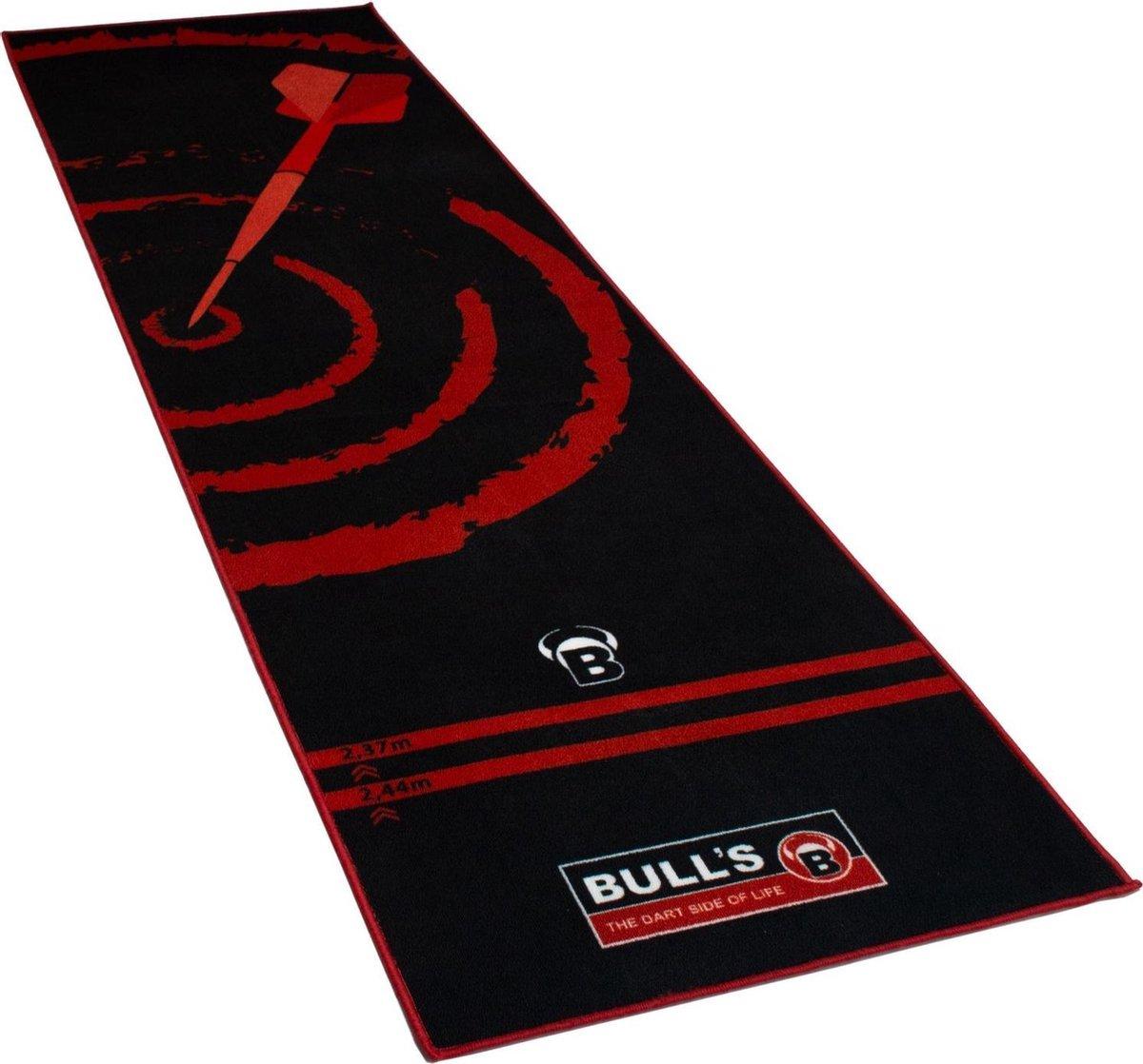 Bull's Dartmat 280 x 80cm Rood