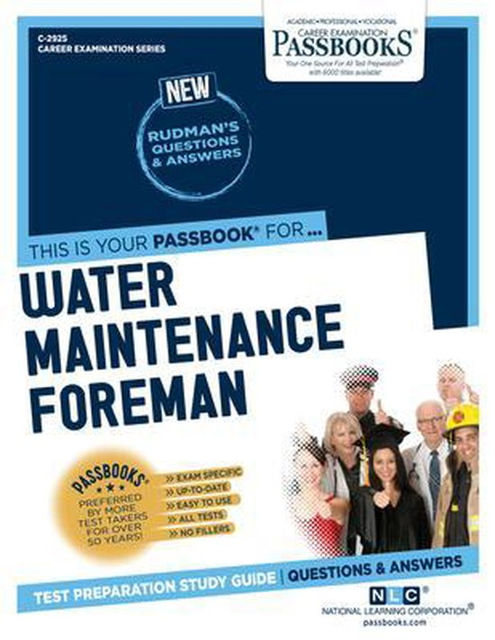 Water Maintenance Foreman, Volume 2925