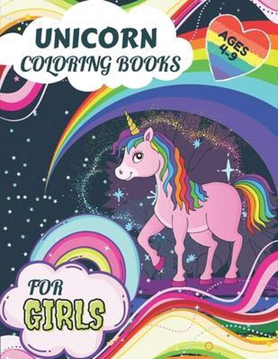 Unicorn Coloring Books for Girls