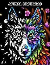 Animal Mandalas: Stress Relieving Designs to Color, Relax and Unwind (Coloring Books for Adults)