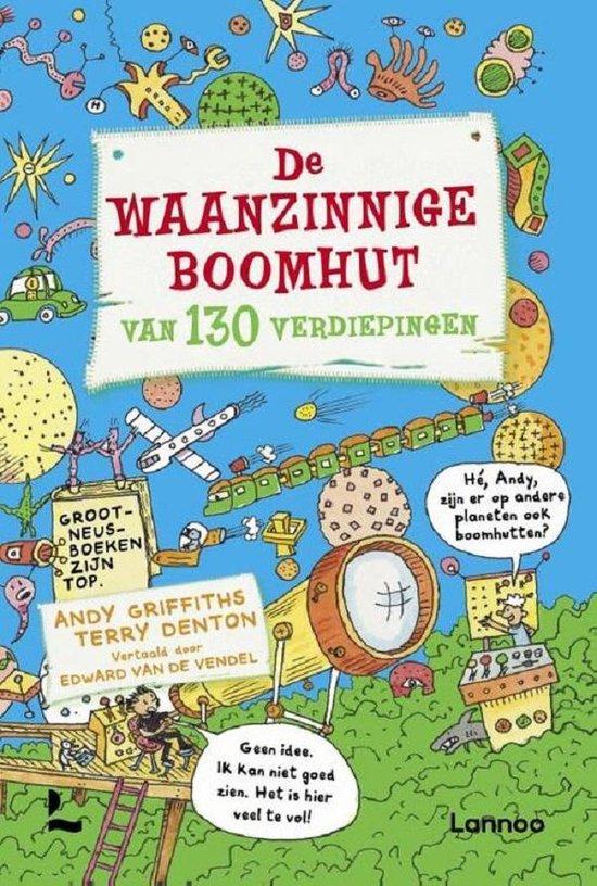 Boek cover De waanzinnige boomhut 10  -   De waanzinnige boomhut van 130 verdiepingen van Andy Griffiths (Hardcover)