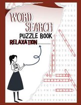 Word Search Puzzle Book Relaxation: Go Games Paperback Word Search Books For Adults, Book Keep Your Brain Stronger For Longer Logic Puzzle Books For A