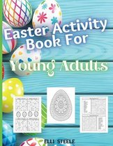 Easter Coloring Book For Young Adults