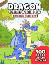 Dragon Coloring Book for Kids ages 5-9