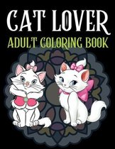 Cat Lover Adult Coloring Book