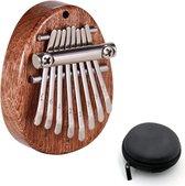 kalimba - Zinaps 8 sleutels Kalimba, duimpiano Kalimba boek - duimpiano - Mbira instrument -  marimbaphon kinderen - Kalimba Marimba - vingerpercussie - marimbaphon instrument