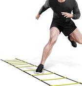 AJ-Sports Loopladder 5 meter - Agility speed ladder - Fitness agility ladder - Sportladder - Ladder - Behendigheids training -  Coördinatie - Sporten - Fitness - Voetbal oefeningen