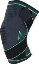 Boersport ® | Orthopedische kniebrace| Kniebandage tijdens sporten | Dames & Heren |Groen| M