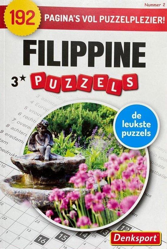 Afbeelding van Denksport | Denksport puzzelboekjes | Filippine| 192 | Filippine puzzels | Puzzelboekjes | Puzzelboeken volwassenen denksport | Puzzelboekjes | Filippines | filippine puzzelboekjes | Puzzel | Filippine puzzelboekjes 3* | 3 sterren met 192 pagina's
