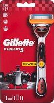 Gillette Houder Fusion 5 Power + 1 Mesje En Batterij - 1 Stuk
