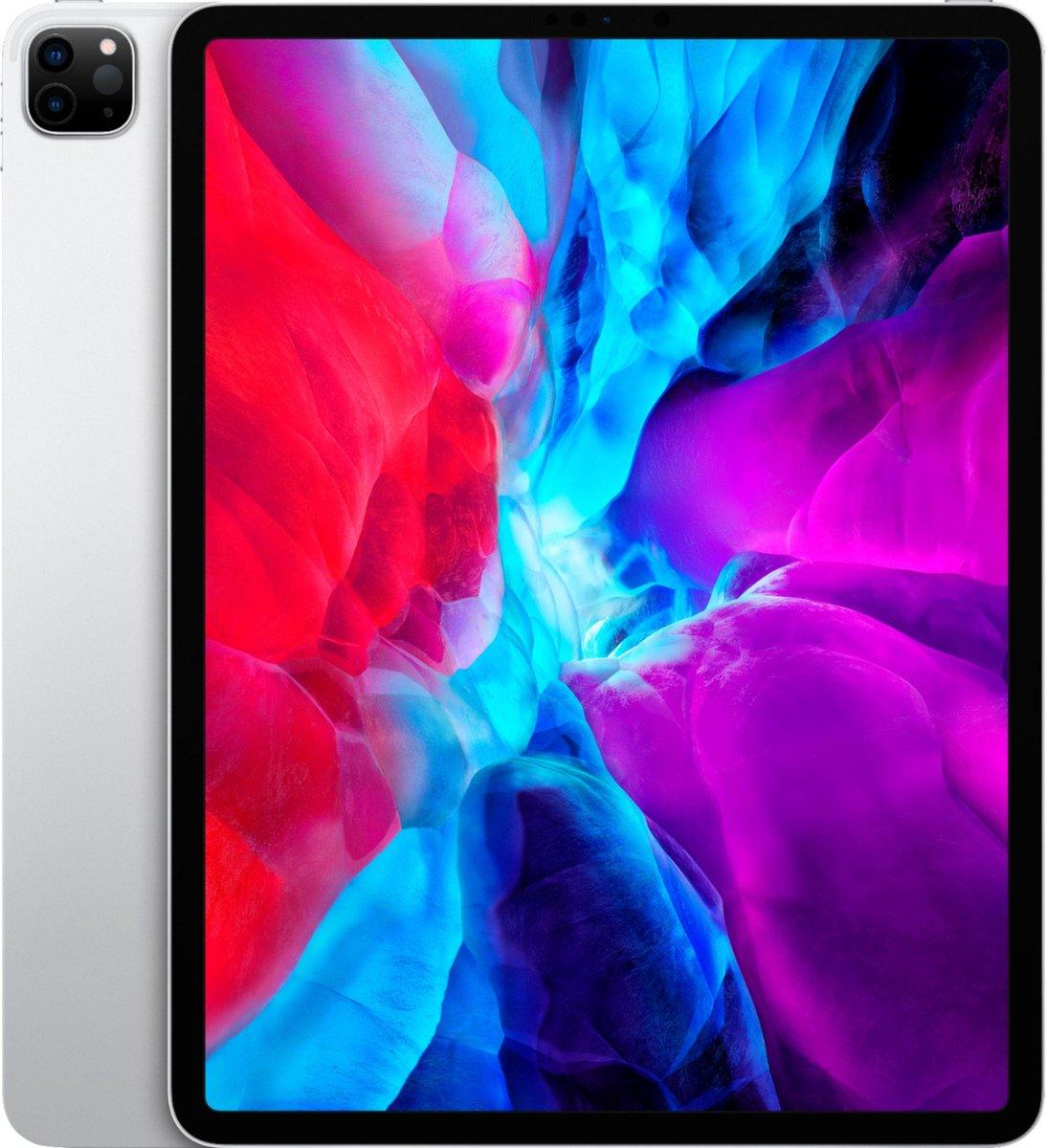 Apple iPad Pro 12.9 4e Generatie - Gereviseerd door SUPREME MOBILE - A GRADE - Alleen Wi-Fi - 128 GB - Zilver