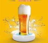 Ultrasonic beer foamer | Bier schuimer | Ultrasonische Bierschuimer | ultrasone bierschuimer | bierschuimer |Beer bubbler| Opladen Eenvoudig te gebruiken Beer Foam Maker | thuisbar| Portable Electric USB Rechargeable Beer Foaming Machine