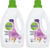 Dettol Perfecte Hygiëne - Wasmiddel Toevoeging - Lavendel - 2 x 1,5 Liter