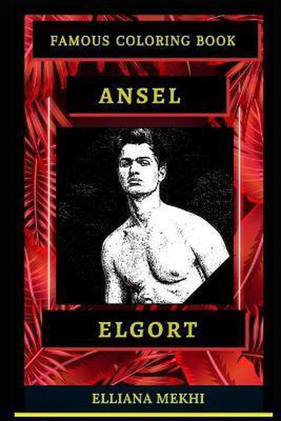 Ansel Elgort Famous Coloring Book