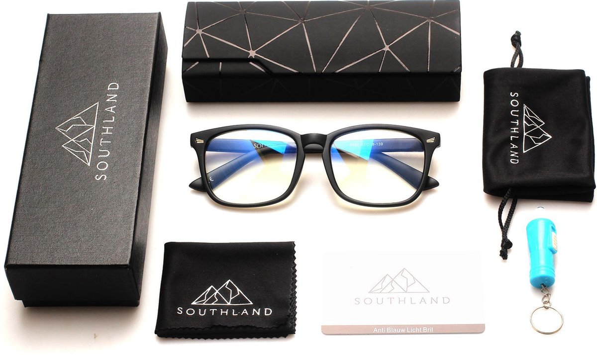 Southland Computerbril – Blauw Licht Bril – Blauw Licht Filter Bril – Blue Light Glasses – Beeldsche