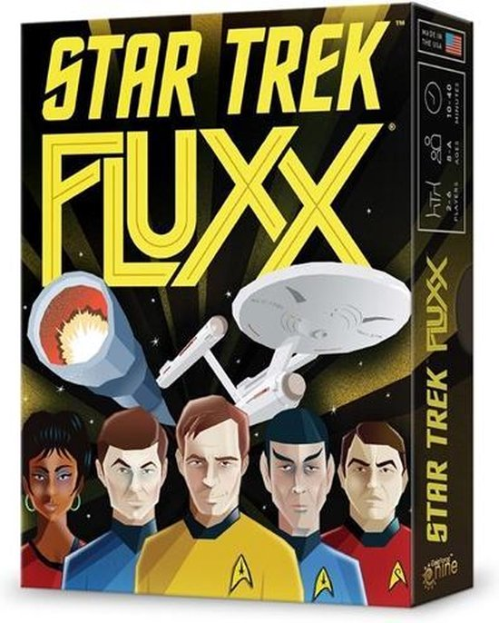 Afbeelding van het spel Looney Labs -Fluxx Star Trek - Engels