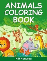 Animals Coloring Book For Boys