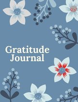 Gratitude Journal: Daily Gratitude Journal, Gratitude Notebook, Gratitude and Productivity journal, Five Minutes Daily Gratitude Journal,
