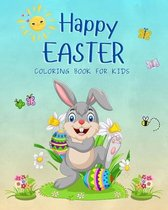 Happy Easter Coloring Book For Kids: Count and Color Activities