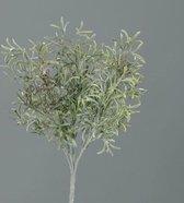 Brynxz - Kunstplant - Sedum-Bush frosted-flocked - Lengte 32cm