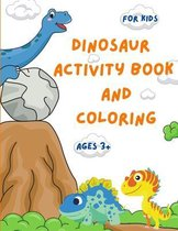 Dinosaur Activity Book and Coloring