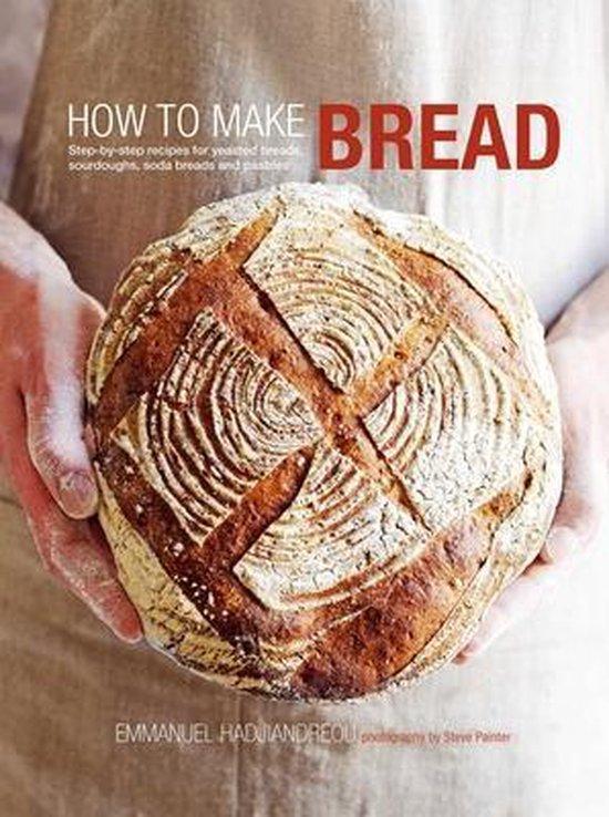 Boek cover How to Make Bread van Emmanuel Hadjiandreou (Hardcover)