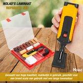 Needum - Laminaat Reparatieset - 11 kleuren hard wax staven - 17 onderdelen