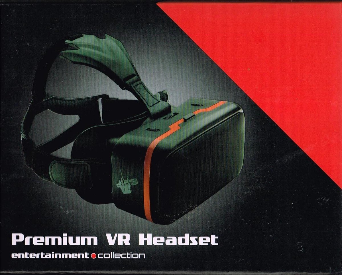 premium vr headset/ 19x13,6x10cm / 7,5 x 5,3 x 4 in