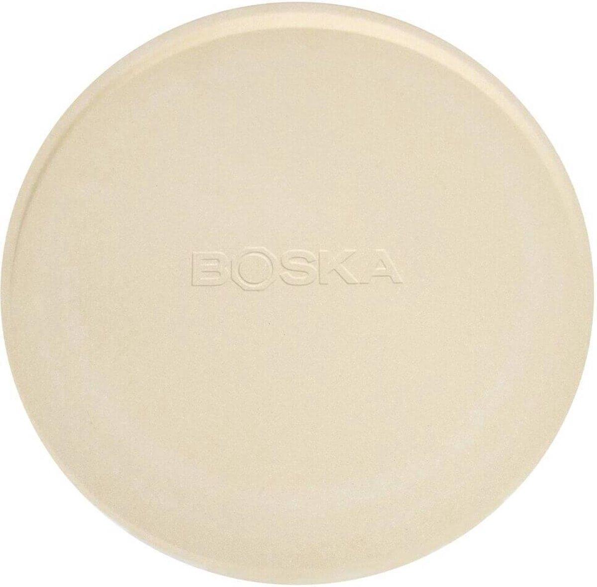 Boska Pizzasteen Deluxe L - voor Oven & BBQ - Knapperige pizza's - ⌀ 35 cm