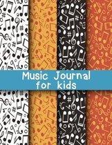 Music Journal for Kids