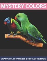 Mystery colors creative color by number & discover the magic