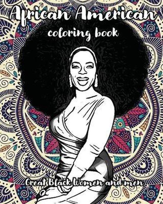 African american coloring book