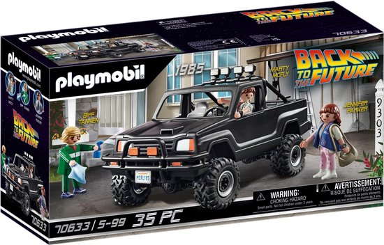 PLAYMOBIL Back To The Future Marty's pick-up truck - 70633