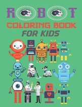 robot coloring books for kids