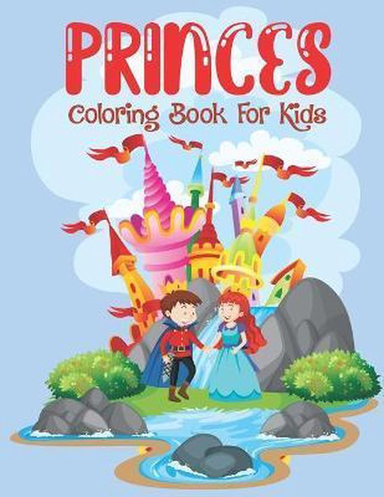 Princes Coloring Book For Kids