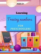learning tracing numbers for preschoolers and coloring