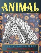 Animal Coloring Books for Adults Relaxation and Stress Relief