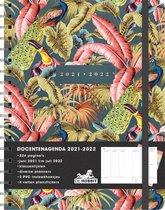 Afbeelding van Hobbit - Docentenagenda - Vogels / Tropisch - 2021 / 2022 - week per 2 paginas - +/- A4 - Ringband