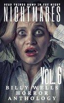 Omslag Nightmares-Volume 6- A Billy Wells Horror Anthology