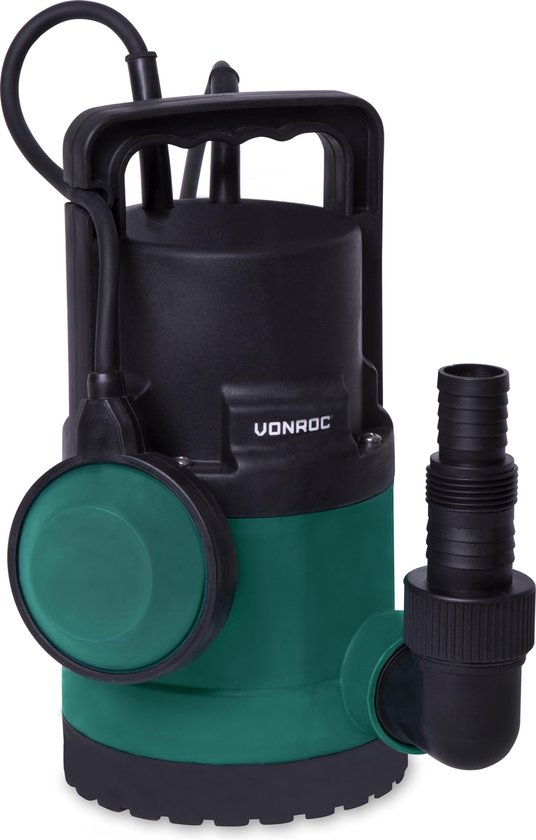 VONROC Dompelpomp/Waterpomp 300W – 6500l/h
