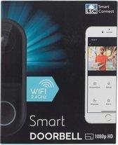 Ring Deurbel - Smart Connect Video-Deurbel - met Camera 1080p Full HD - Wi-Fi 2.4GHz - Smart Connect Video Doorbell
