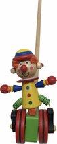 Duwstok - Clown - duwfiguur loopstok