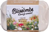 Blossombs eierdoosje met bloemenzaden - 6 zaadbommetjes