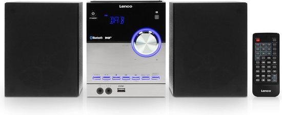 Lenco MC-150 - Microset DAB+ Tafelradio / CD-speler met Bluetooth