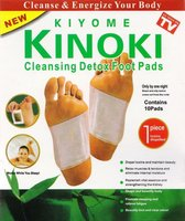 Kiyome - Kinoki - cleansing Detox Foot Pads - 10 pads