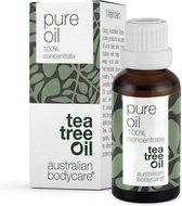 Australian Bodycare Pure Tea Tree Olie 30 ml - 100% puur natuurlijke Tea Tree Olie uit Australië tegen huidproblemen - Houdt de goede flora op de huid in balans - Effectief bij jeugdpuistjes en pukkeltjes