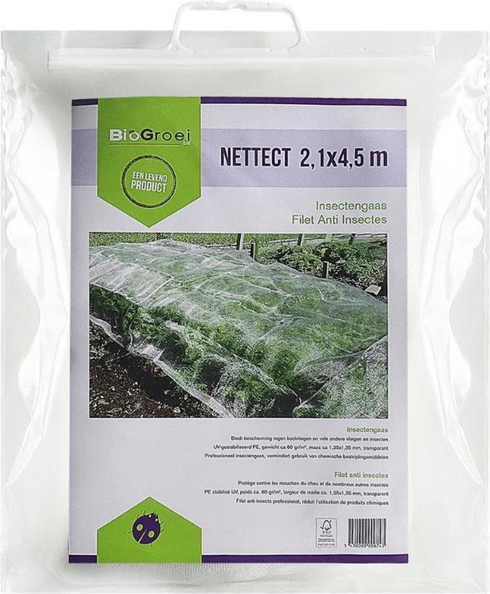 Nettect | Insectengaas tegen koolvliegen, etc. | 366 cm x 600 cm