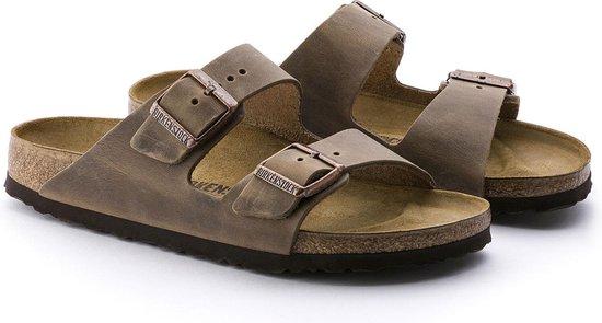 Birkenstock Arizona Dames Slippers - Brown  - Maat 41 - Birkenstock